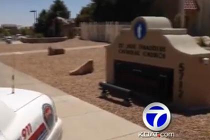 На прихожан церкви в Нью-Мексико напал мужчина с ножом