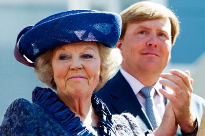 Королева Нидерландов выступила с прощальной речью