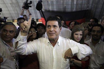 Президент Парагвая отказался от зарплаты