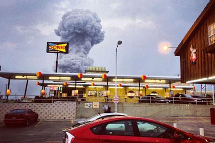 Взрывом в Техасе разрушило до 75 зданий