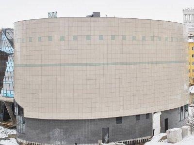 При строительстве выставочного центра украли 4,6 миллиона рублей