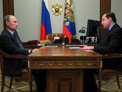 Островский отчитался перед Путиным об успехах первого года губернаторства