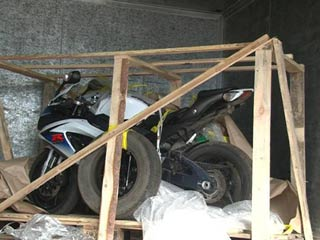Смоленские полицейские отыскали краденый байк по запросу Интерпола