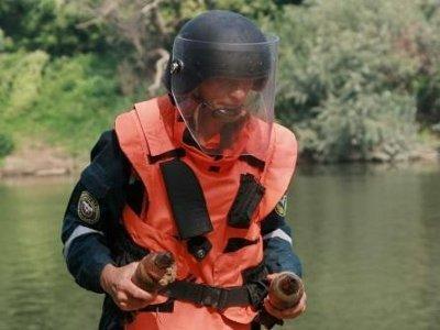 Московские водолазы будут искать бомбы в реке Гжати