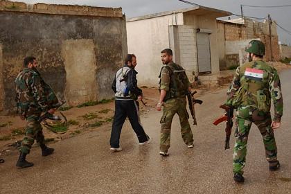 Сирийские солдаты убили трех иностранцев