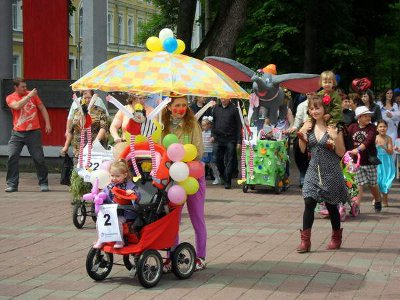 В Смоленске устроят пятый Парад колясок