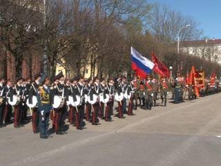 В Смоленске прошла генеральная репетиция городского парада ко Дню Победы