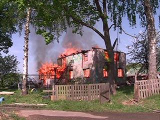 Жители деревни Мурыгино остались без жилья из-за пожара