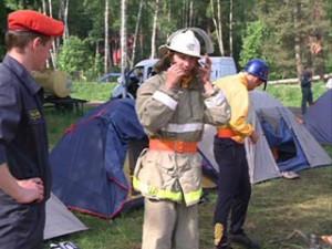 Юные пожарные Смоленщины приступили к ежегодным состязаниям