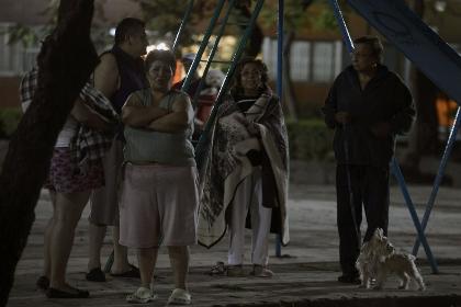 Землетрясение вызвало перебои энергоснабжения в Мехико