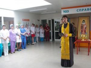 Целительные мощи святого Луки пронесли по смоленским больницам