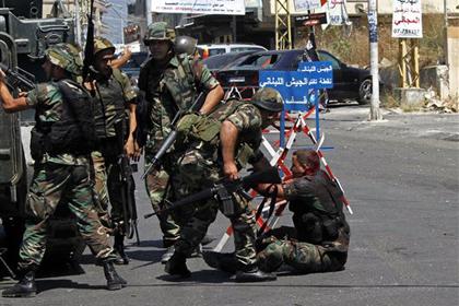 Ливанская армия вступила в бой со сторонниками сирийских повстанцев