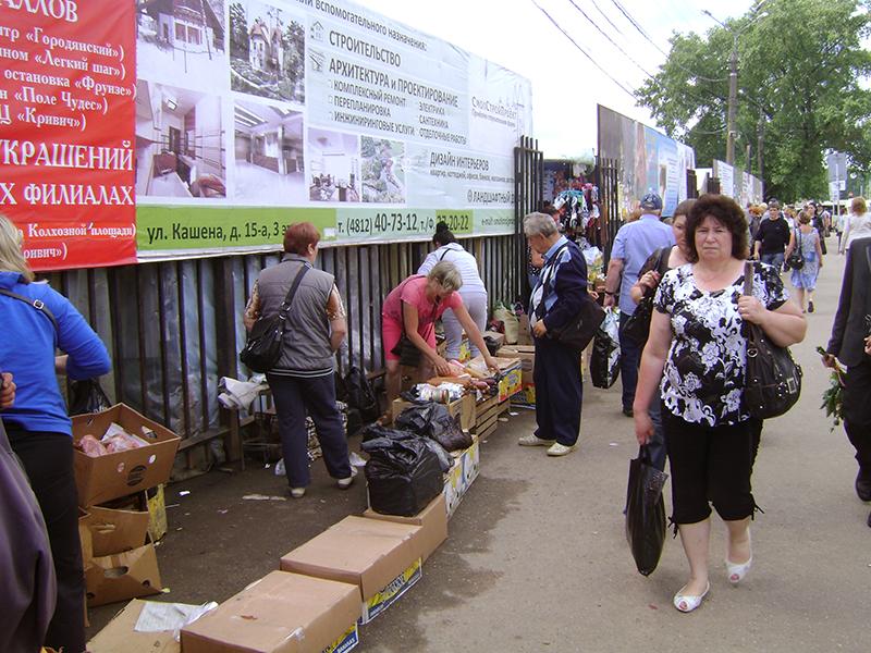 Борьба с нелегальной торговлей в Смоленске