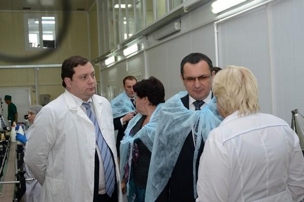 Министр сельского хозяйства посетил смоленские предприятия