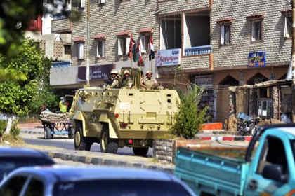 На Синайском полуострове боевики обстреляли автобус с рабочими
