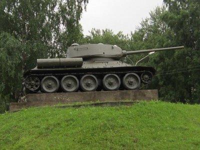 Смоленский танк отреставрировали