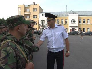 Смоленские омоновцы отправились на Северный Кавказ на смену коллегам
