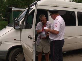 Сотрудники Смоленского ГИБДД выявили за неделю 600 нарушителей среди водителей маршруток