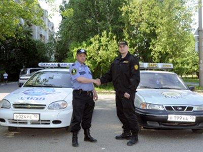 Полицейские наладили взаимодействие с частными охранниками