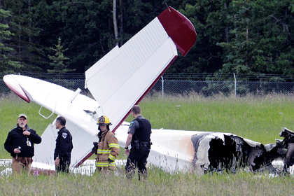 В результате крушения авиатакси на Аляске погибли 10 человек