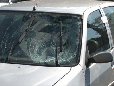Гаишники оперативно поймали скрывшегося с места ДТП водителя