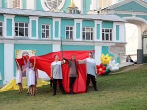 На Соборном холме показали спектакль «о заступнице земли русской»