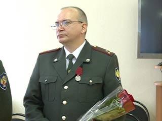 Замначальника Смоленского наркоконтроля награжден медалью ордена За заслуги перед Отечеством» Второй степени