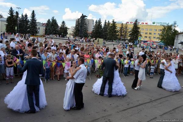 Юбилейные торжества в Гагарине и Рославле