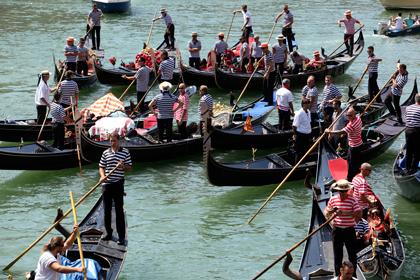 Венецианских гондольеров будут тестировать на наркотики