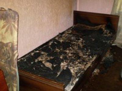 Пожар в пригорской пятиэтажке унес человеческую жизнь