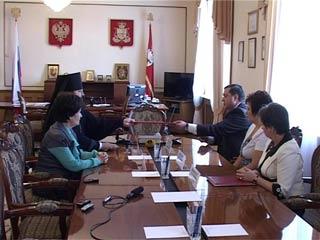 В Смоленске подписано соглашение о сотрудничестве между церковью и областной администрацией