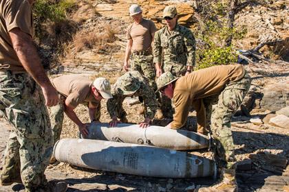 В Австралии подняли сброшенные на Барьерный риф бомбы