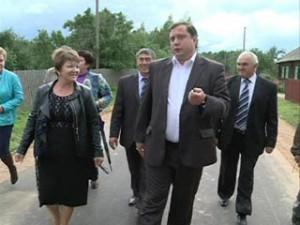 Смоленский губернатор посетил Новодугинский район