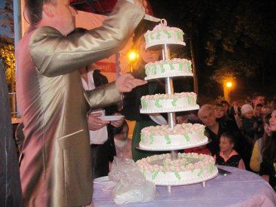 На юбилее парка разрекламированный торт достался только счастливчикам