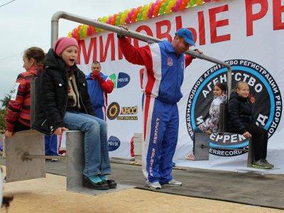 «Русские богатыри» и смоленские дети установили два мировых рекорда