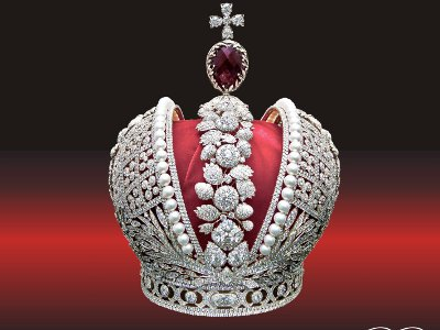 Смолянам покажут реплику российской короны с тысячами бриллиантов