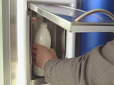 На улицах Смоленска появятся молочные автоматы