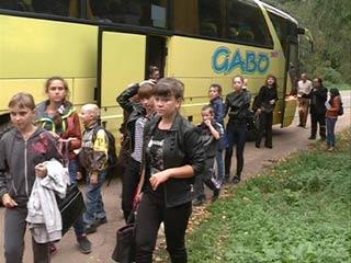 В Смоленск прибыли дети из Дальневосточных районов, пострадавших от наводнения
