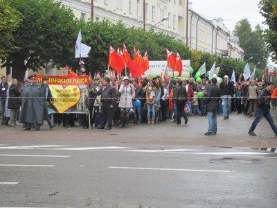 Шествие трудящихся «Связь времен» превзошло советские демонстрации