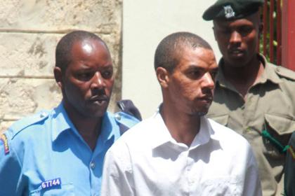 В столице Кении задержали британца