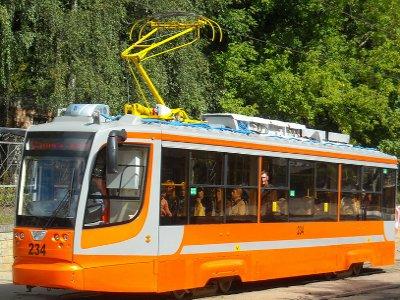 По Дзержинке снова пустили трамваи