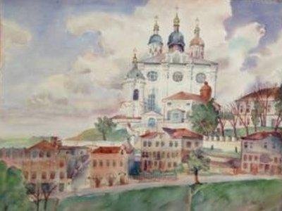 Смоленск обрел картины, написанные немецким художником во время войны