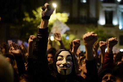 Противники образовательных реформ устроили беспорядки в Мадриде
