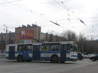 Троллейбусы вернулись на улицу Кирова