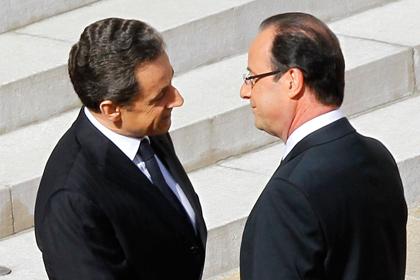 Олланда заподозрили в сборе компромата на Саркози