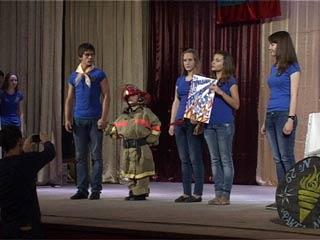 Юные пожарные Смоленска состязались в знании правил безопасности