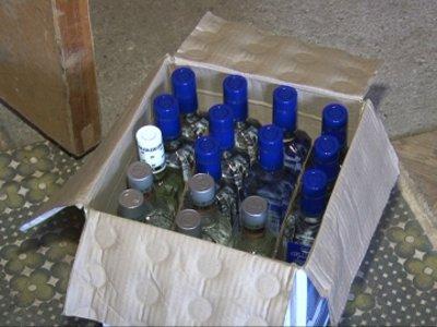 В Смоленске накрыли склад с контрафактным алкоголем