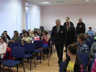 Воспитанники Кардымовской школы-интерната узнали много нового на «Уроке мужества»