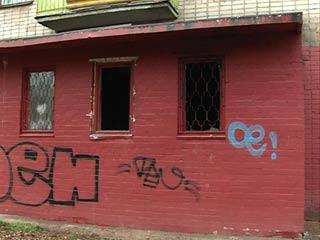 В Смоленске сгорел магазин запчастей