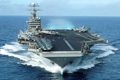 США отправили на помощь Филиппинам авианосец